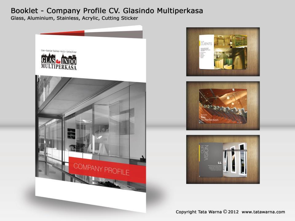 Contoh Desain Company Profile Perusahaan Bidang General Contractor Rosyi Tatawarna