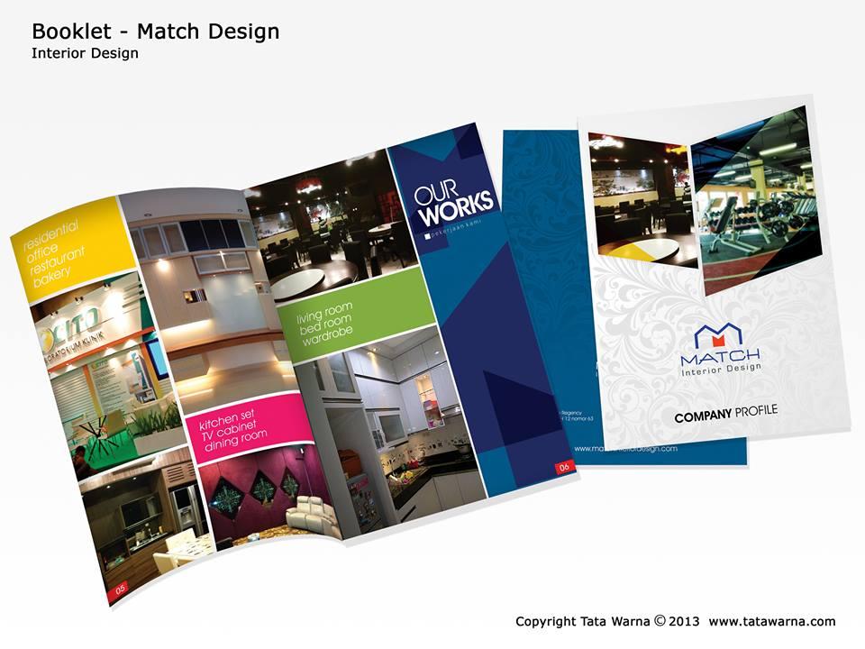 Contoh Desain Company Profile Perusahaan Bidang Interior